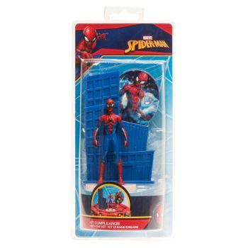 Spiderman Kuchen-Set