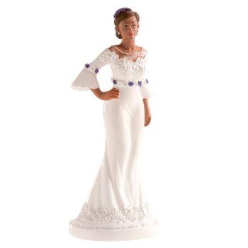 Glamouröse Brautfigur