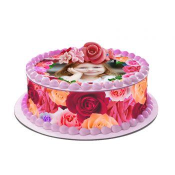 Easycake Rosa Kit zu personalisieren
