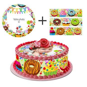 Easycake-Kit Süßigkeiten zu personalisieren