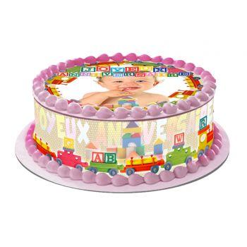 Easy cake Kit Happy Birthday zu personalisieren