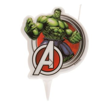 2D-Kerze Hulk