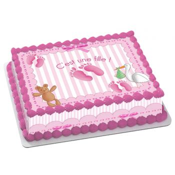 Easycake Baby Kit Rosa A4