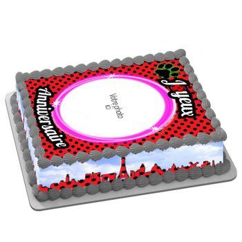 Easycake Girly Bug Kit zum Anpassen A4