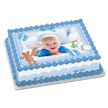 Easycake Baby Blue Kit zum Anpassen A4
