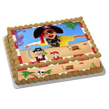 Easycake Piraten Kit zum Anpassen A4