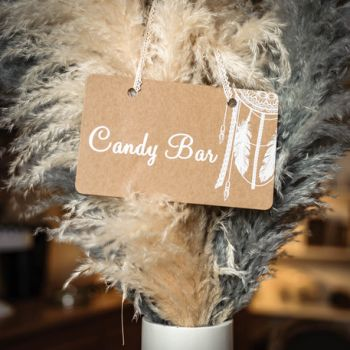 Plakat Candy Bar Boho