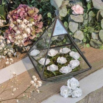 12 weiße Rosen auf 3.5cm Schaft