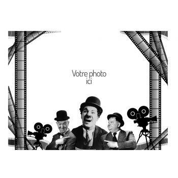 Dekor mit A4-Zucker-Dekoration 1930 Kino zu personalisieren
