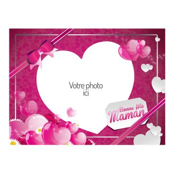 Tortenaufleger personalisierte dekor Muttertag A4