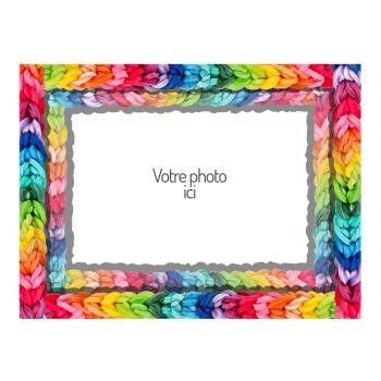 Tortenaufleger personalisierte dekor Rainbow loom A4