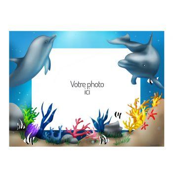 Dekor auf Sucre Delfine A4 zu personalisieren