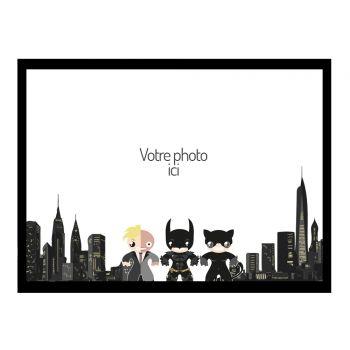 Tortenaufleger personalisierte dekor Gotham A4