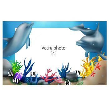 Dekor auf Sucre Delfine A3 zu personalisieren