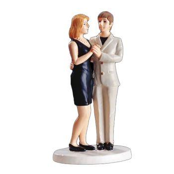 Figurina Couple blonde blonde 15 cm