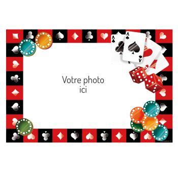 Dekor auf Zucker-A3-Poker zu personalisieren