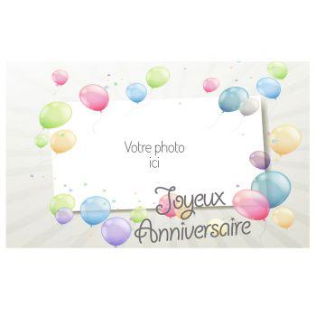 Dekor auf A3 Zucker luftballon zu personalisieren