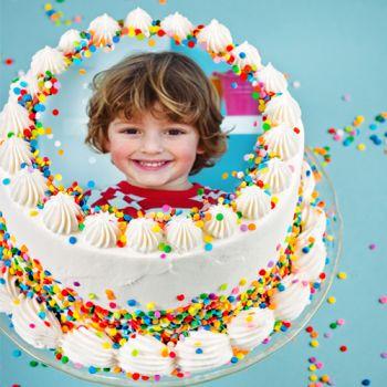 Zucker-Disk für personalisierte Kuchen