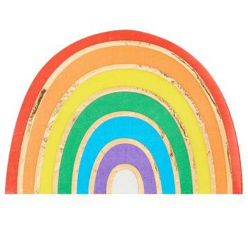 16 Regenbogentücher