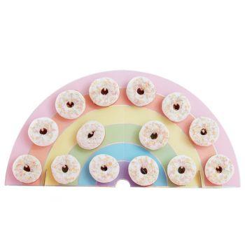 Donut-ständer Regenbogen Pastell
