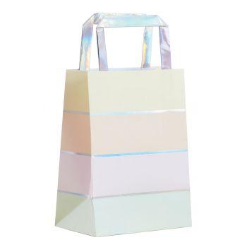 5 Pastell-Regenbogentaschen