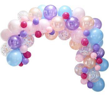 Bogen-Kit mit 80 Pastellballons