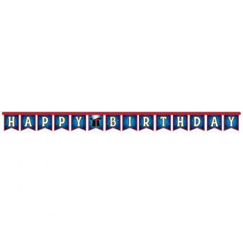 Banner Happy Birthday Magic Party