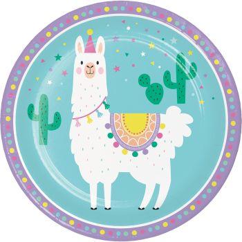8 Teller Lama party