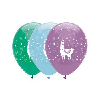 6 Luftballons lama party