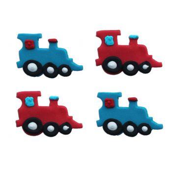 Mini-Figuren Zucker kleine Züge