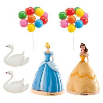 Kit Dekoration Kuchen Prinzessinnen disney