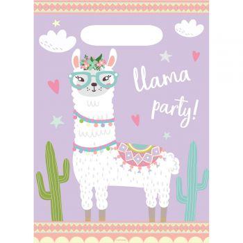 8 Lama Party-Beutel