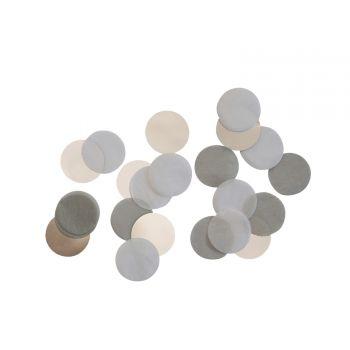 Konfetti Papier silver dream