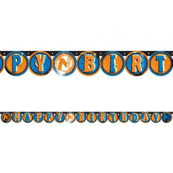 Banner Happy Birthday Nerf