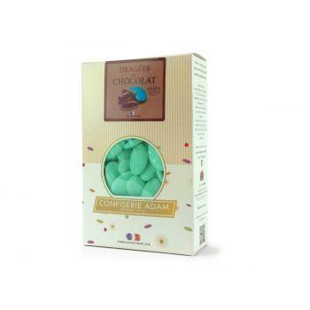 Dragees schokolade pastell matt grün 500gr