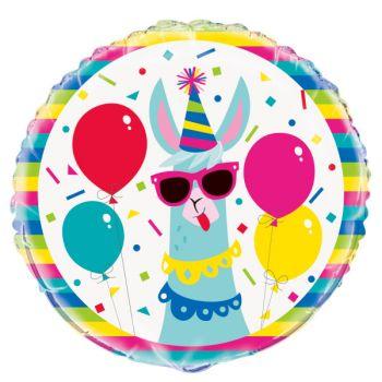Helium Ballon Lama birthday