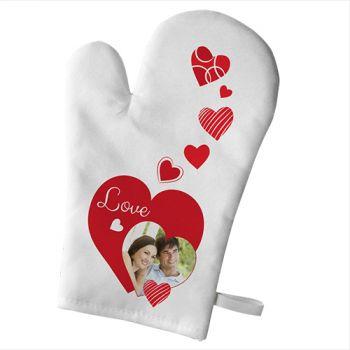 Handschuh der persönlichen Küche Dekoration Liebe Küche