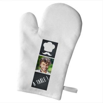Handschuh der persönlichen Küche Dekor Bon appetit
