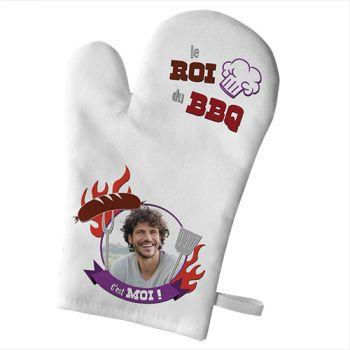 Handschuh der persönlichen Küche Dekor König grillen