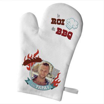 Handschuh der persönlichen Küche Dekor Papa King Grill