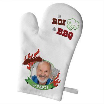 Küchen-Handschuh personifiziert Dekor Papi King Grill