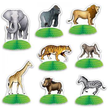 8 Dekore zum Posieren Dschungel