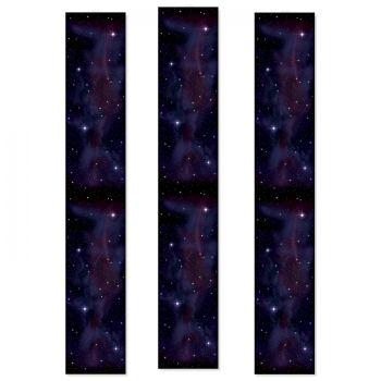 3 Dekore Galaxie auf Leinwand