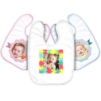 personalisierte Baby-Lätzchen