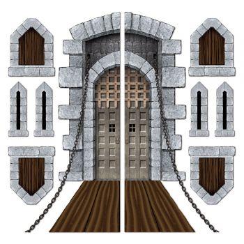 Wanddekoration Brücke Levis und mörderische Schloss
