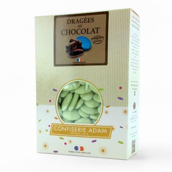 Dragees schokolade glänzend wassergrün 1kg