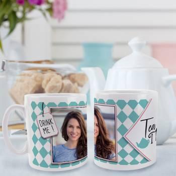 personalisierte tasse Dekor Tea Time
