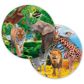 8 Safari-Party Teller