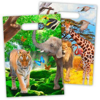8 Safari Party-Beutel