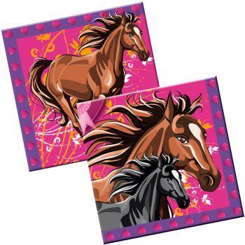 20 Servietten Pferde-Party